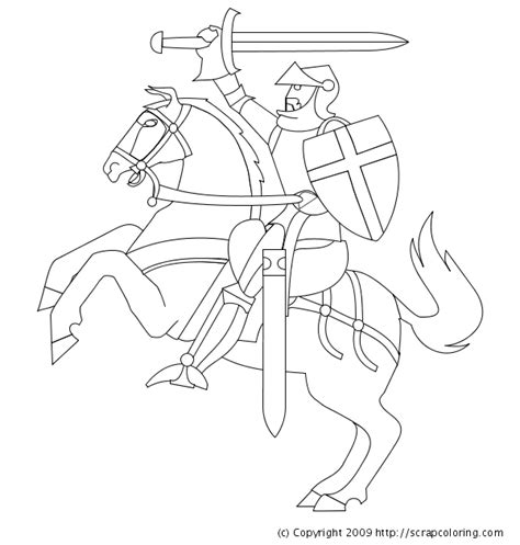 printable coloring pages knights knight horse coloring pages projects to try pinterest