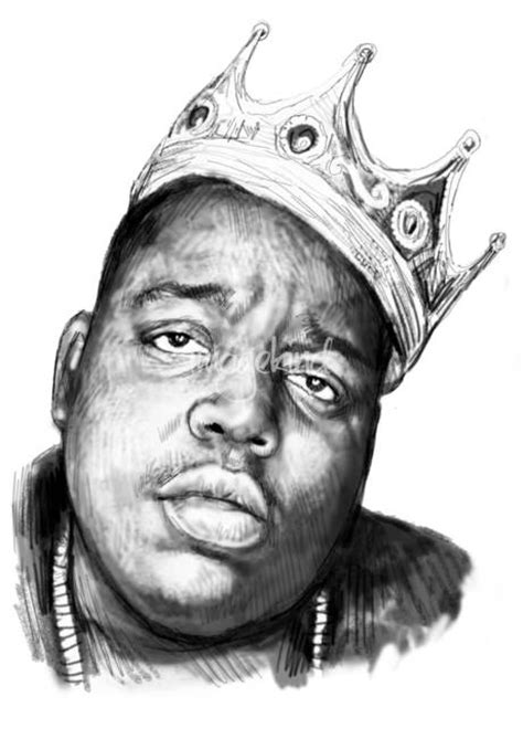 how to draw biggie stunning quot biggie smalls quot artwork for sale on prints