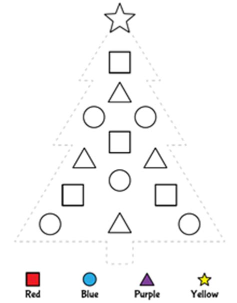traceable christmas tree shapes worksheets for preschoolers best free printable worksheets