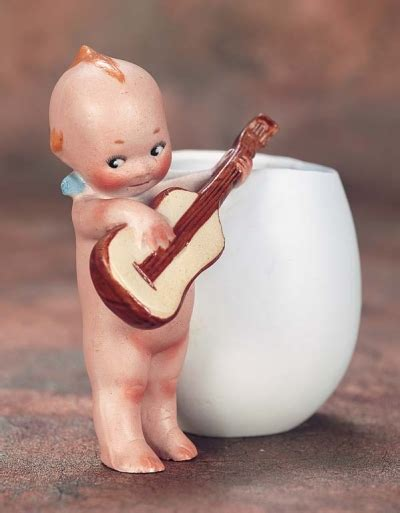kewpie with guitar the wee ones 39 german all bisque kewpie with guitar as
