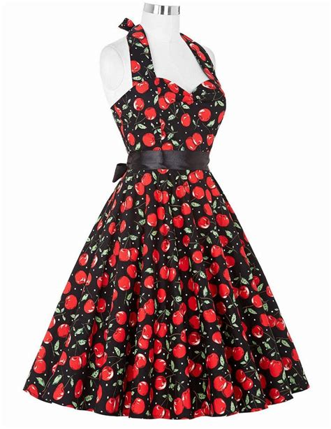 60s swing dress real picture 50s rockabilly dresses floral print retro