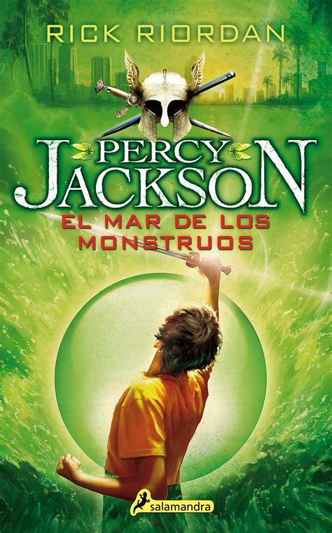 libro el mar de los percy jackson y los dioses del olimpo el mar de los monstruos r 250 stica ediciones salamandra