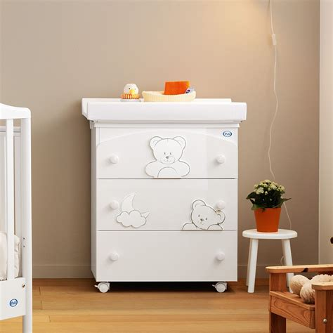 Pali Baby Changing Table F Pali Changing Table Baby Bath With 3 Drawers Available In Several Colours