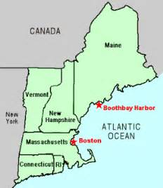 Where Is New England On The Map by Image Gallery New England States Us