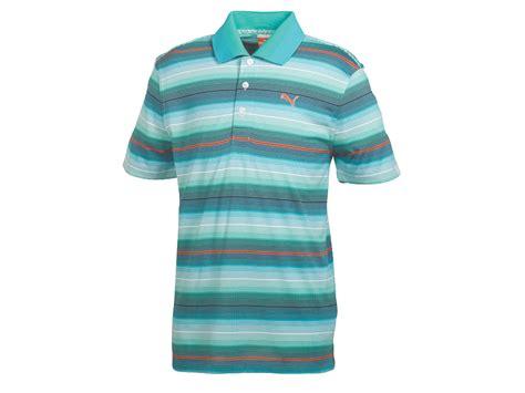 Md Stripe Blue new s golf roadmap stripe shirt white scuba blue pool green md 566667 ebay
