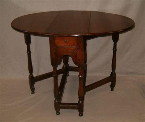 Antique Gateleg Dining Table C1700 Oak Gateleg Table