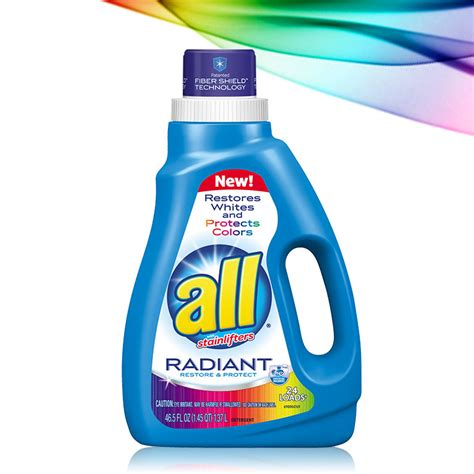 best laundry detergent for colors all 174 radiant our best laundry detergent for brightening