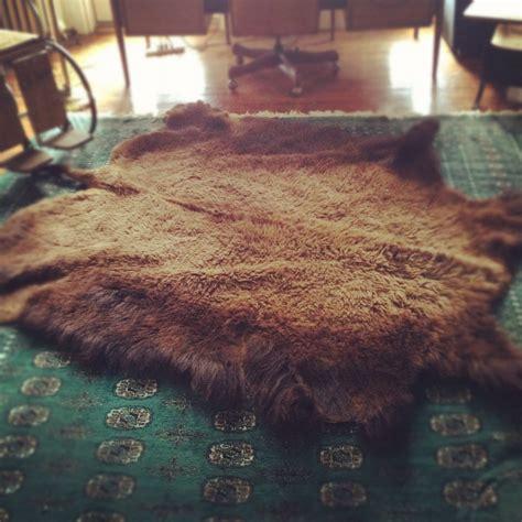 Bison Skin Rug by Bison Buffalo Skin Rug Industial Home