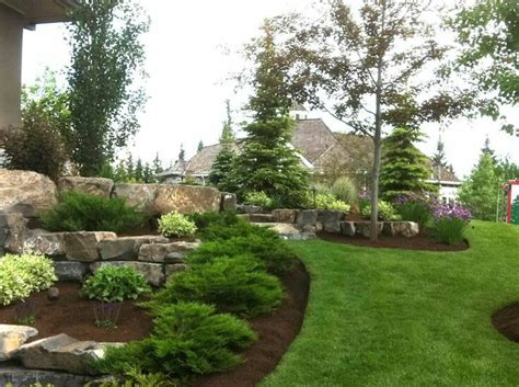 17 best ideas about evergreen landscape on