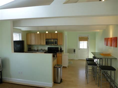 open floor plan condo modern 1 bedroom open concept walk homeaway provincetown