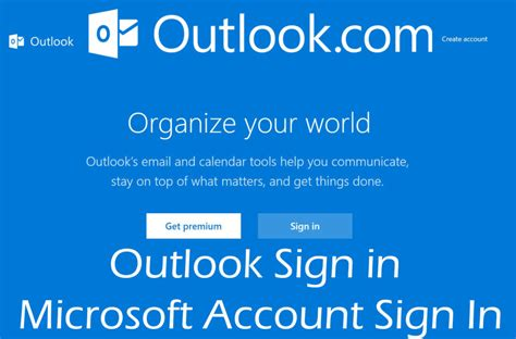 Office Outlook Web Access Sign In by Outlook Sign In Microsoft Account Sign In Kikguru
