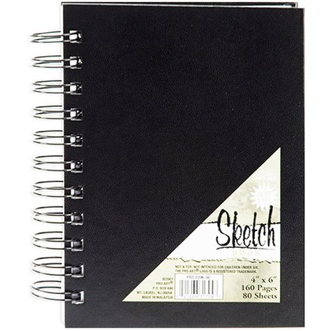 walmart sketchbook pro spiral bound sketch book 80 sheets walmart