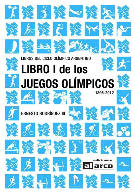 libro sabotaje olmpico libro de los juegos olimpicos 1986 2012