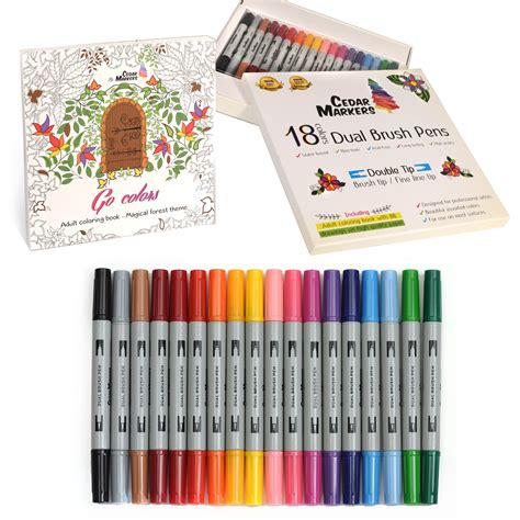 best tip markers for coloring books coloring pages