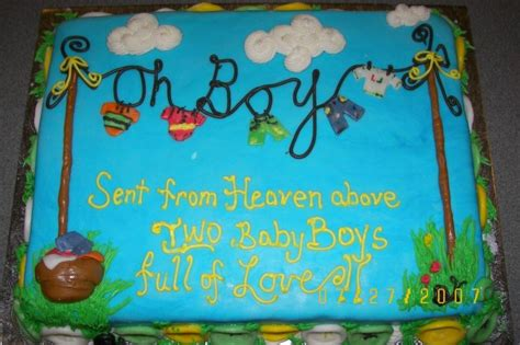 Baby Boy Shower Cake Sayings by Baby Shower Cakes Sayings