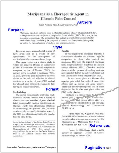 layout of an academic journal evaluating journal articles scholarly journal articles