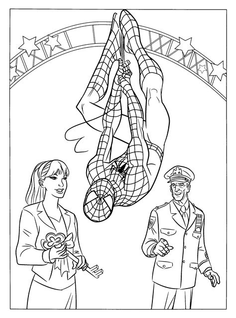 printable w 9 nj spider man coloring book pages get coloring pages