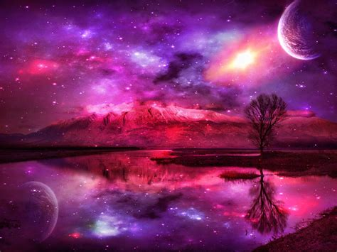 galaxy wallpaper landscape fantasy landscape wallpapers wallpaper cave