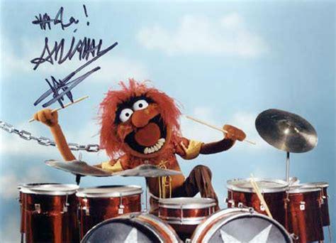 Drum Animal Concert drummerworld animal ronnie verell