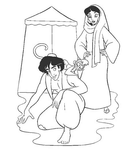 aladdin coloring pages pdf 10 best aladdin images on pinterest aladdin animated
