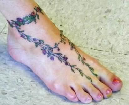 flower vine tattoo designs foot cute tattoos for girls 30 amazing flower shoulder tattoo