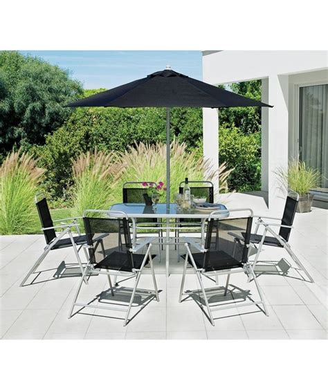 buy pacific 6 seater patio furniture set at argos co uk
