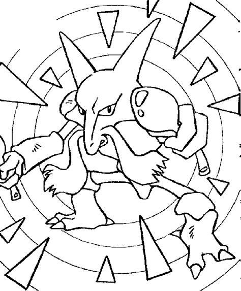 pokemon coloring pages 4u kadabra pokemon coloring page for kids az coloring pages