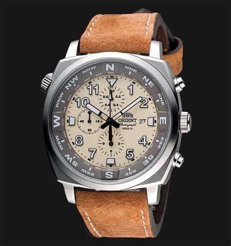 Jam Tangan Pilot Quartz orient pilot ftt17005y quartz chronograph brown