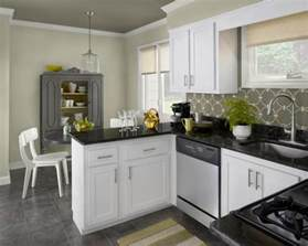 Kitchen Colors With White Cabinets by The Luxury Kitchen With White Color Cabinets Home And
