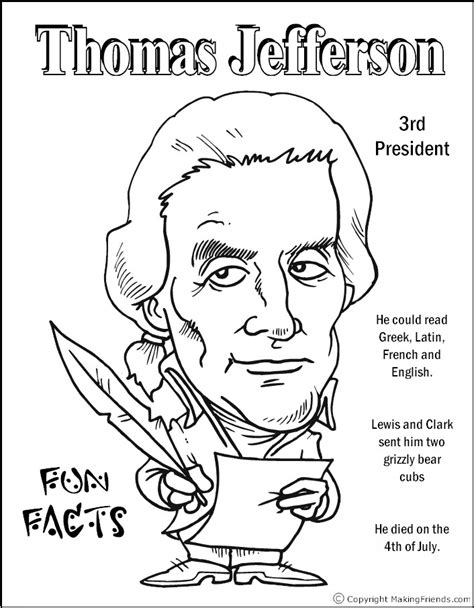 printable coloring pages us presidents presidents coloring pages