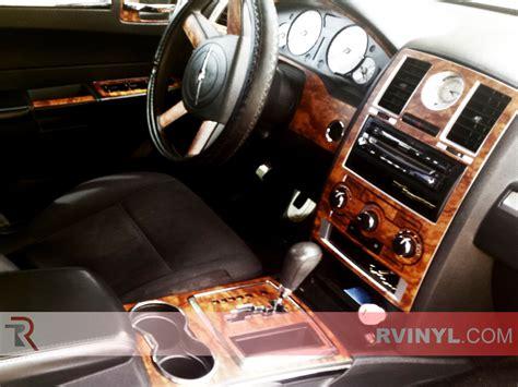 best car repair manuals 2010 chrysler 300 instrument cluster rdash 174 2010 chrysler 300c dark burlwood wood grain dash kit