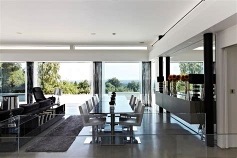 contemporary home open to panoramic views home design the home is filled with high end luxuries which are also