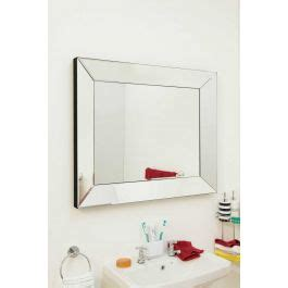 4ft X 3ft Frameless Mirror by Bathroom Mirror Mirrors Mirror Outlet