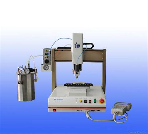 selling automatic epoxy resin doming machine y