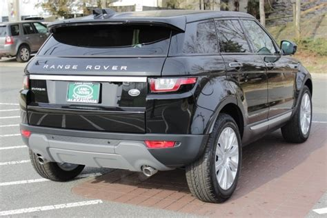 certified pre owned  land rover range rover evoque hse  sport utility  falls church