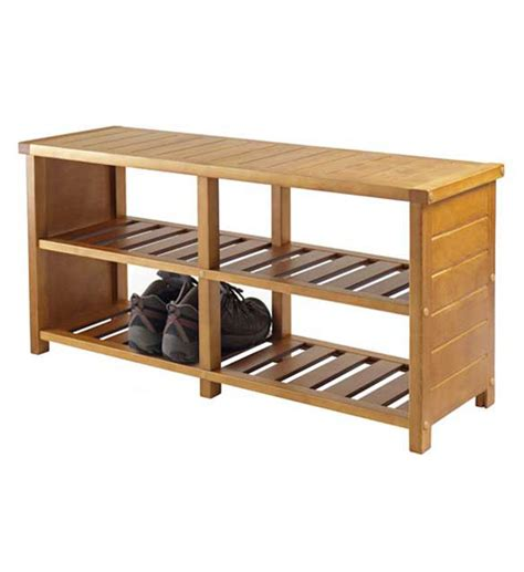 storage bench with shelves bench with shelves teak finish in storage benches