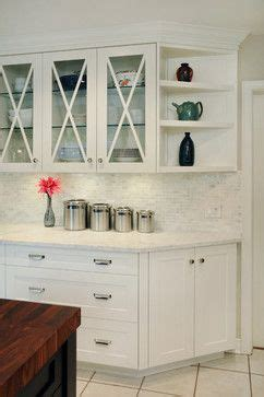 Corner hutch, Drop zone and Cabinets on Pinterest
