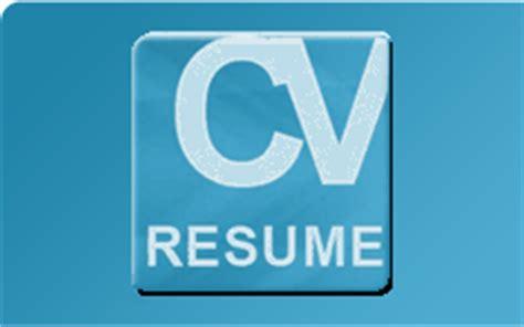 Resume Logo Cv Resume And Cover Letter Free Sle Cv And Resume Writing Exles Cv Resume