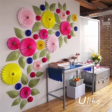 Tissue Paper Flowers Hanging Decoration by Hanging Tissue Paper Flowers For Wedding Decoration Paper