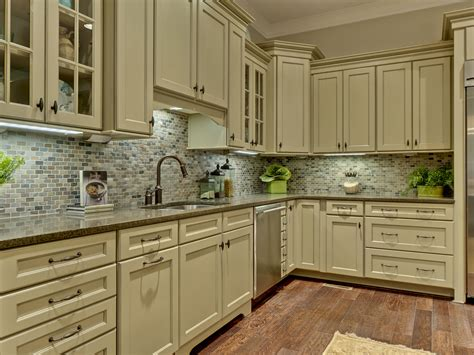 Kitchen Backsplash Green Amazing Refinished Green Kitchen Cabinets To White Painted Kitchen Cabinetry Set With Ceramic
