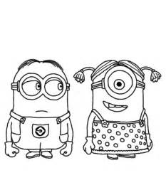 minions coloring page despicable me minion coloring pages coloring home