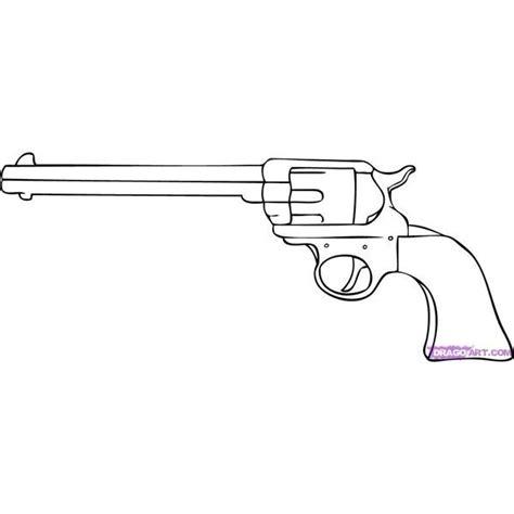 tattoo gun cartoon how to draw a cartoon gun step by step guns weapons