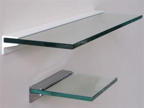 Floating Shelf Glass by Heavy Duty Shelves Toughened Glass Floating Shelf