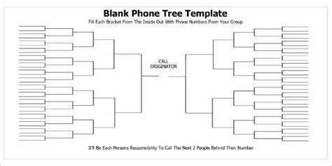 15 Phone Tree Template Free Word Pdf Excel Documents Phone Tree Template Docs