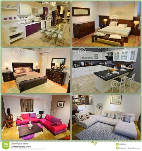 interior design collage home design collage royalty free stock image image 30636336