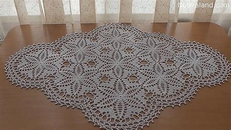 Crochet Motif Patterns For Tablecloth Part 5 How To Join notikaland crochet doily tablecloth pattern