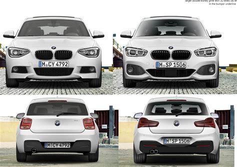 Bmw 1er E87 Facelift Unterschied by Offiziell Bmw 1er F20 F21 Facelift Lci