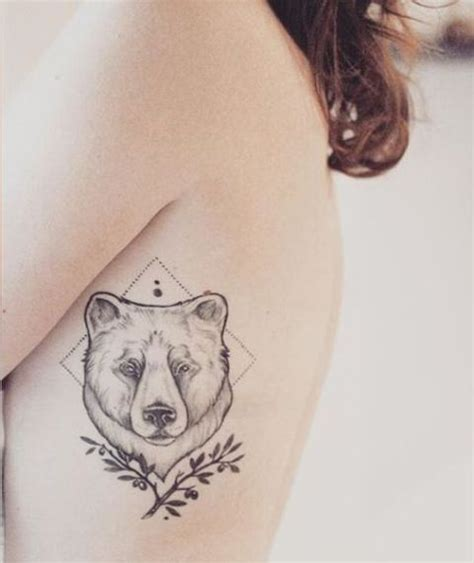picture of geometric tattoo on the side