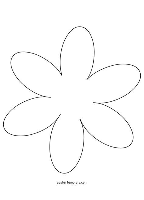 6 Petal Flower Template by 6 Petal Flower Template Www Pixshark Images