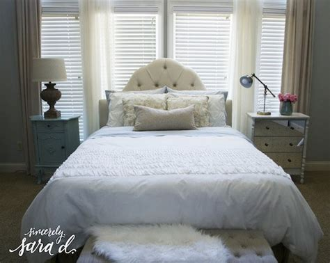 pretty beds master bedroom makeover tips for making a pretty bed sincerely sara d
